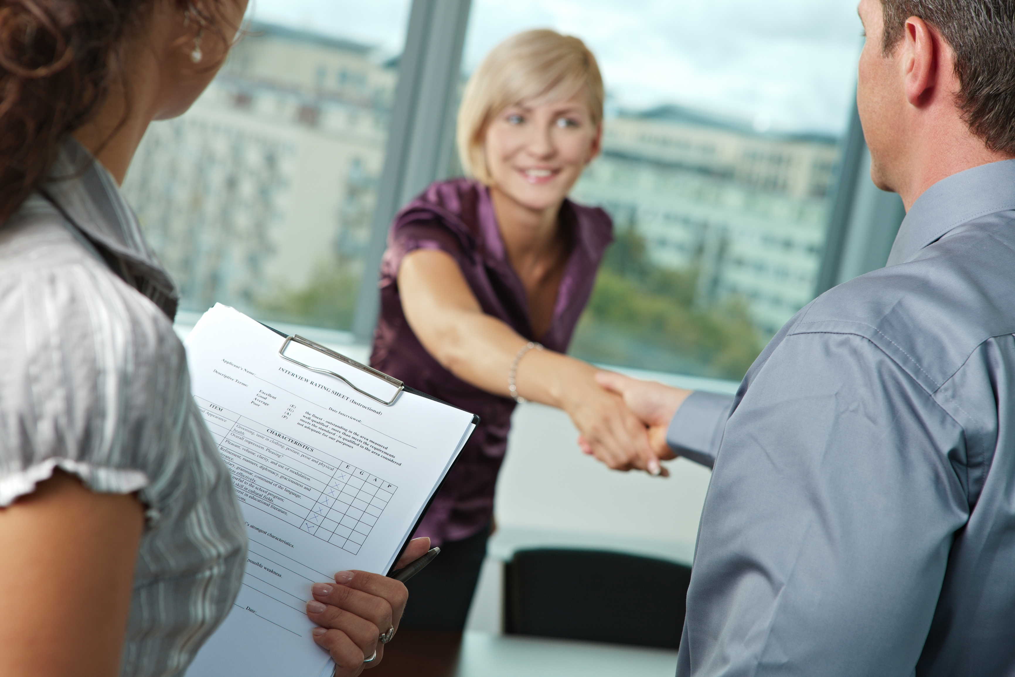 http://www.dreamstime.com/royalty-free-stock-images-successful-job-interview-image11369549